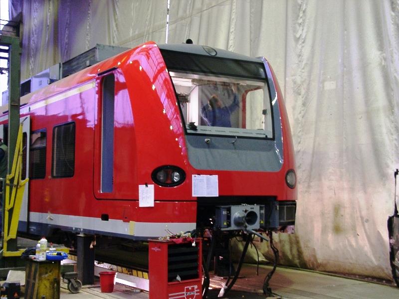 Neues Führerhaus Triebwagen ET-425-071