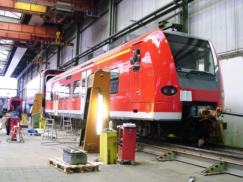 Fertigstellung Triebwagen ET-425-071