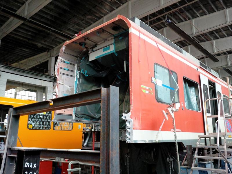 Instandsetzung Unfallschaden Triebwagen ET 425-302
