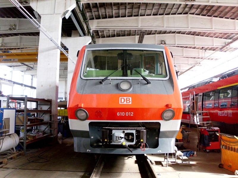 Instandsetzung Unfallschaden Triebwagen VT 610-012