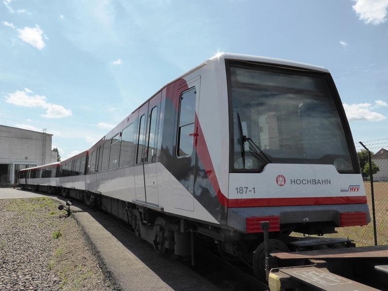 Die fertige Hamburger Hochbahn