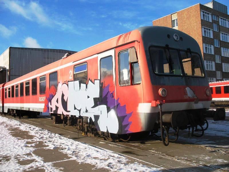 Reisezug Kanada vor Modernisierung