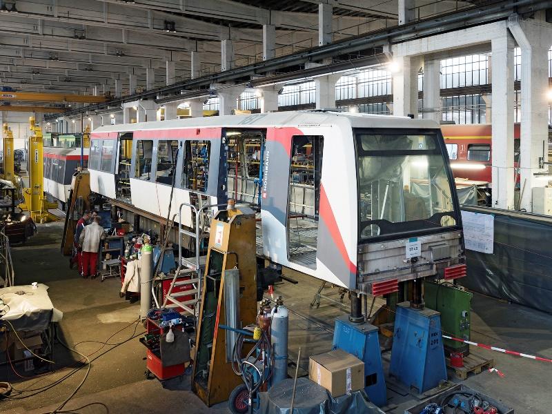 Komplettzerlegung der Hamburger Hochbahn